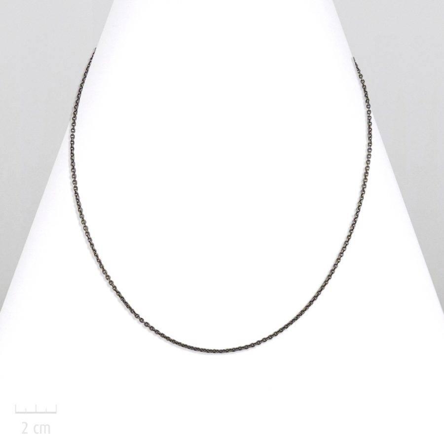 Collier chaîne fine bronze pour hommes à customiser avec un pendentif. Style moderne chic, classique ou rock. Le basic au masculin. Création Zor Paris