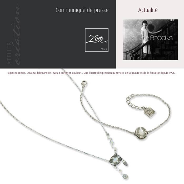 Bijoux fantaisies de séduction naturel par l'atelier de création Zor Paris