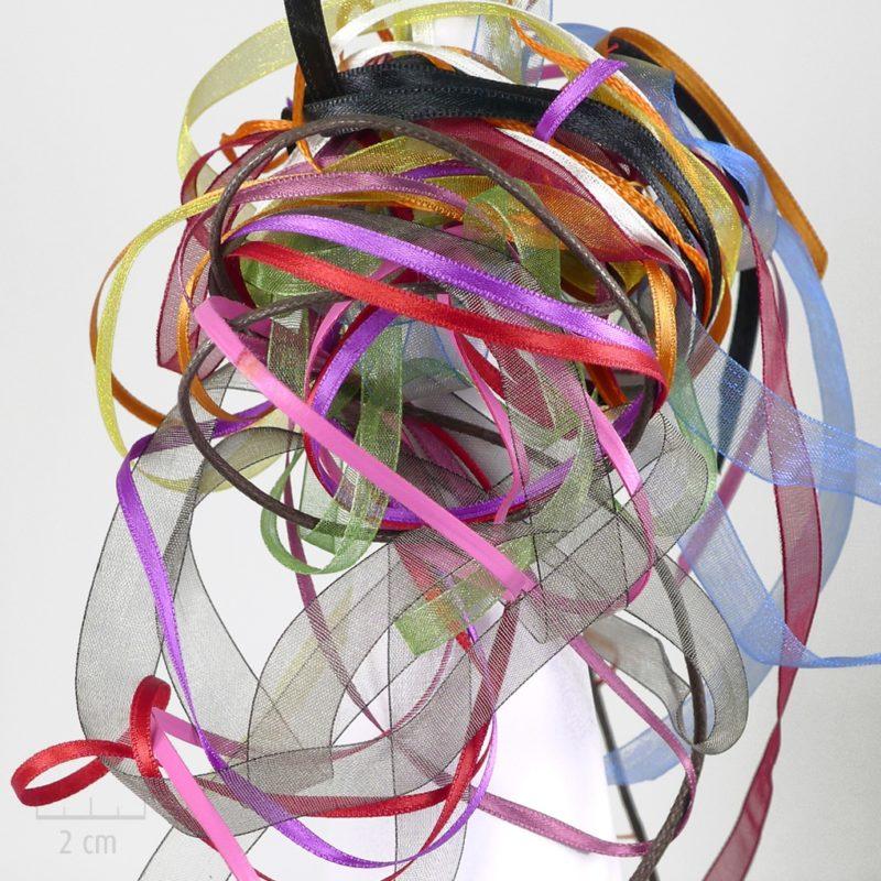 Option Sur-mesure couleur ruban pour créer à la demande son bijou perso. Contact direct avec l'atelier, customisation de cordon pour bracelet, pendentif. Création ZOR