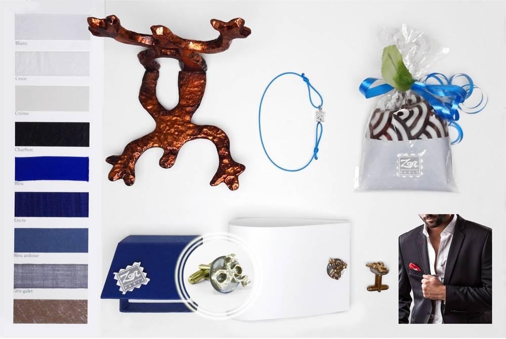 idee-cadeau-Fete-des-peres-bouton-de-manchette-or-precieux-bijou-fantaisie-atelier-creation-bijoux fantaisies-Zor-paris