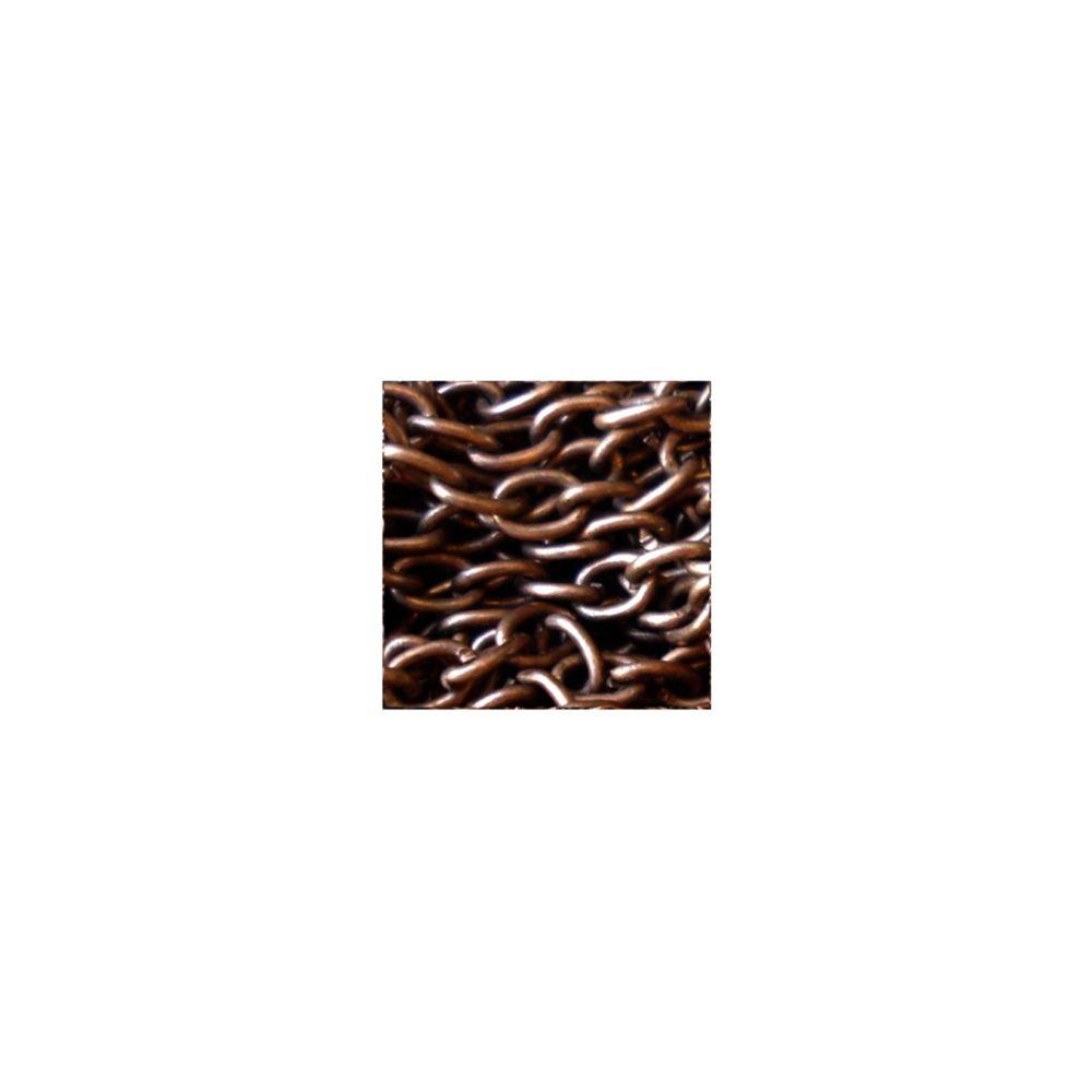 Collier femme, enfant, chaîne fine simple pour pendentif tendance rétro, moderne, classique, rock ou glamour. Bijou cuivre antique. Création Zor & Sébicotane, France
