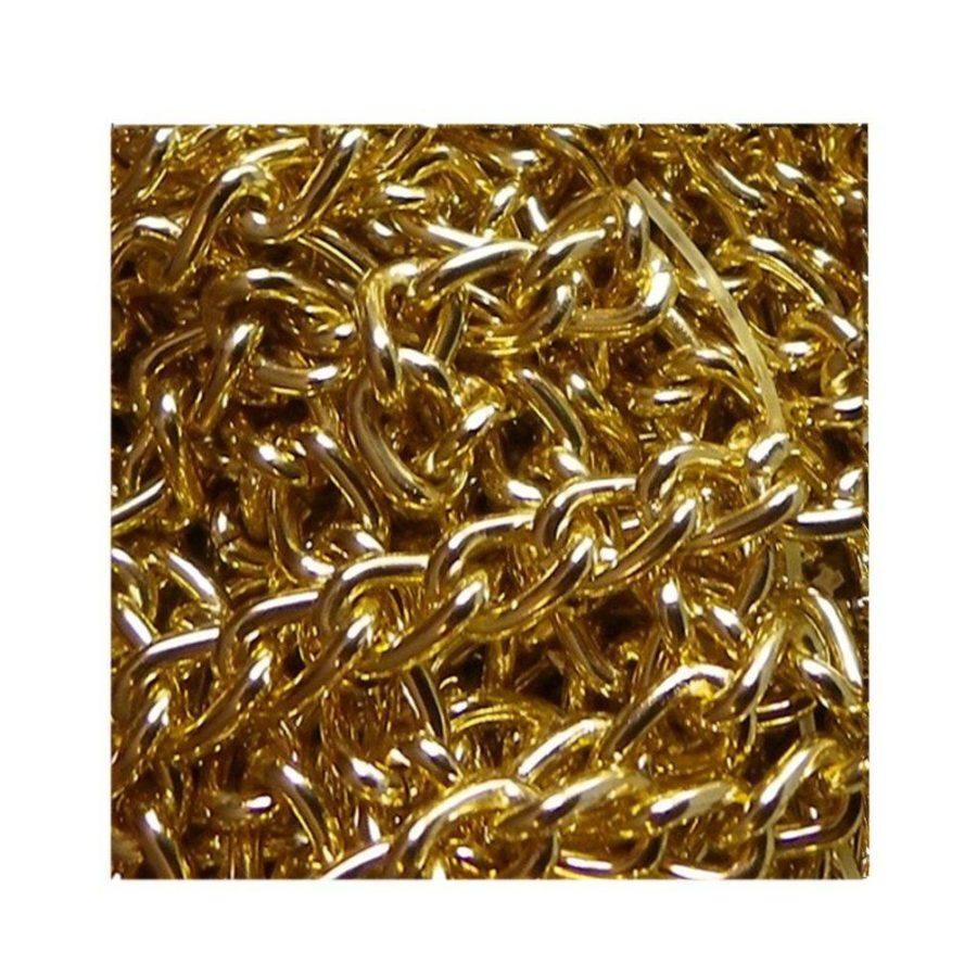 Collier femme, enfant, chaîne fine simple pour pendentif tendance rétro, moderne, classique, rock ou glamour. Bijou doré à l'or fin. Création Zor & Sébicotane, France