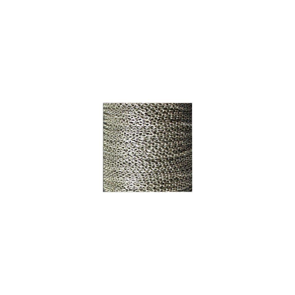 Collier chaîne fine, argent antique, pour hommes à customiser avec un pendentif. Style moderne chic, classique ou rock au masculin. Création Zor Paris