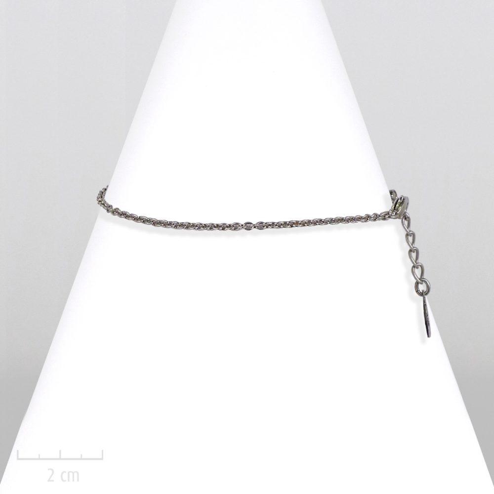 Bracelet unisexe, chaîne fine argent pour enfant fille garçon. Style moderne chic, classique rock. Gourmette basic au masculin. Création Zor
