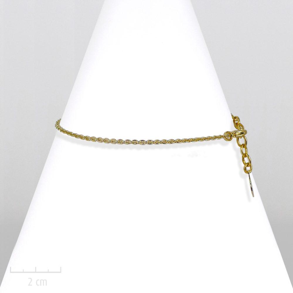 Bracelet unisexe, chaîne fine dorée pour enfant fille garçon. Style moderne chic, classique rock. Gourmette basic au masculin. Création Zor