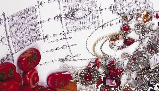 Création Zor, des bijoux haut de gamme pour la saga Arlequin Rouge de Roberto Ricci. Meilleurs ventes Amazon. Style médiéval fantastique