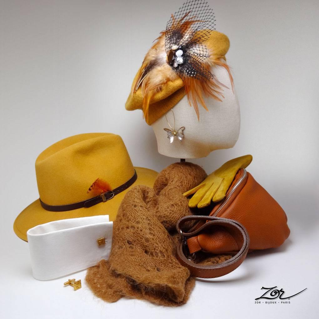 Soldes une folie douce: des styles de bijoux bohème, des vêtements chics, des chapeaux pour des looks garçonne et des étoles vintage, Zor Paris 2.