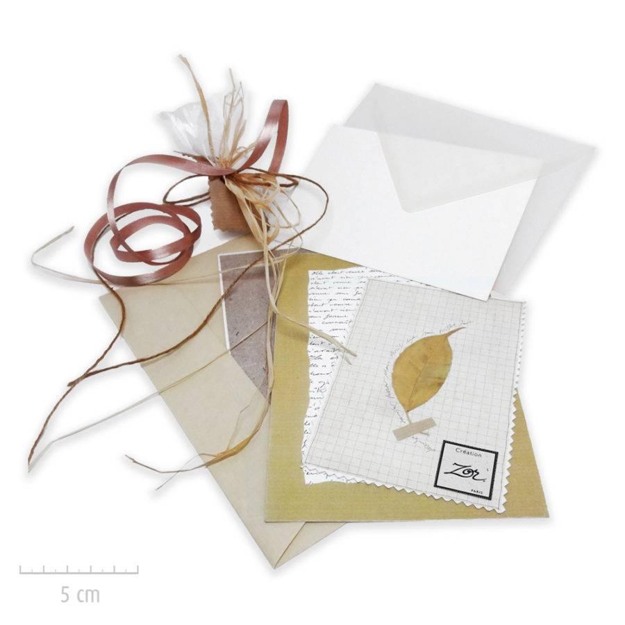 Les créations Zor bijoux emballent vos cadeaux et propose des options: message manuscrit personnalisé, carte, enveloppe nature. Atelier Paris