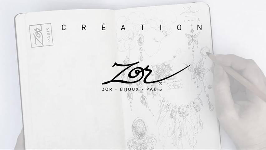 VIDÉO: DESSIN de bijou, création, carnet de croquis d'atelier. Bijoux Zor Paris