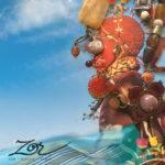 Challenge création d'un collier sautoir ethnique unique par Bijou Zor Paris. Art et beauté d'Afrique, pierre fine, pectoral Zulu, Maasaï.