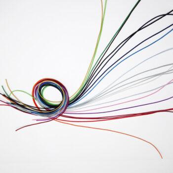 Lacet, cordon un choix de couleur pour personnaliser son bijou unique. Fabrication sur-mesure. Zor Paris 2