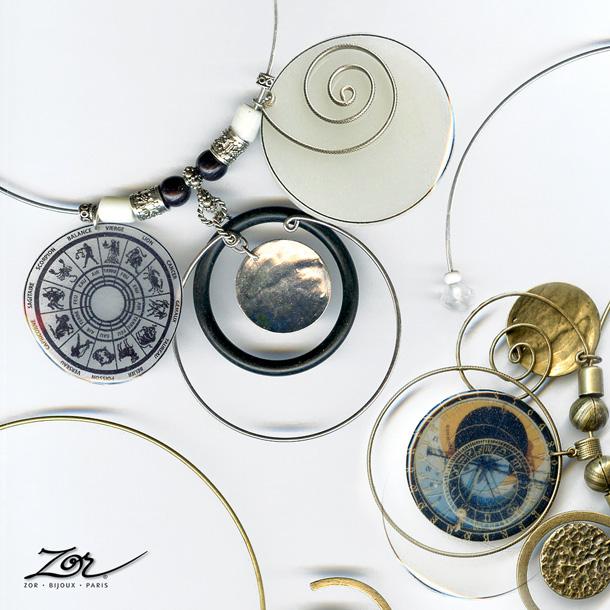 Cadeau astral et symbolique pour femme et homme selon le signe du zodiaque et l'horoscope. Par Bijou Zor Paris 2