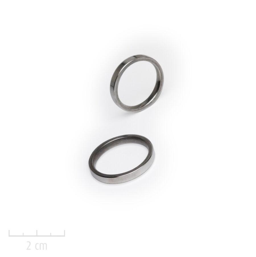bague homme 1 anneau acier argent. Bijou simple au masculin. Made-in-France, Createur Zor Paris 1